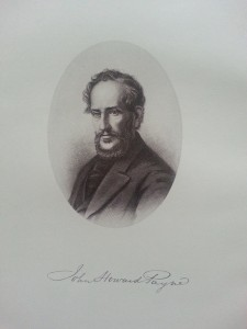 Frontispiece of Charles H. Brainard's biography of John Howard Payne (Washington, D.C.: 1885).