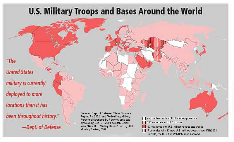 Roundtable US Foreign Policy And The Left Chapter Society - The us empire map 2017