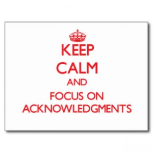 Keep-Calm-and-Focus-on-Acknowledgments