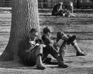 André Kertész, Washington Square, 1969