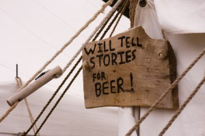 Will-tell-stories-for-beer