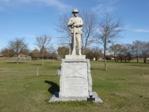 The Hunt County Confederate Memorial, located on the grounds of the Audie Murphy American Cotton Museum in Greenville, Texas. Courtesy of Wikipedia.