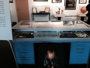 Bradbury's desk