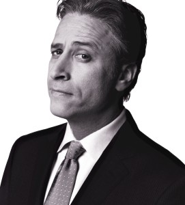 Jon Stewart, public intellectual -- whether he likes it or not.
