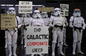 The stormtrooper joke memes work so well precisely because we don't see ourselves as tools of an empire.
