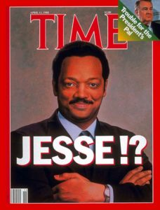 I appreciate how the !? on this April 11, 1988 TIME cover captures, inadvertently, the ambiguity of Jackson's role in the Culture Wars.