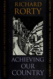 rorty-achieving-our-country